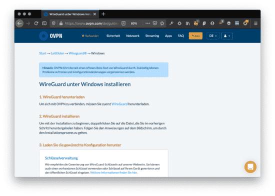 News: OVPN nun auch in Deutsch + Android App im Betastatus 5