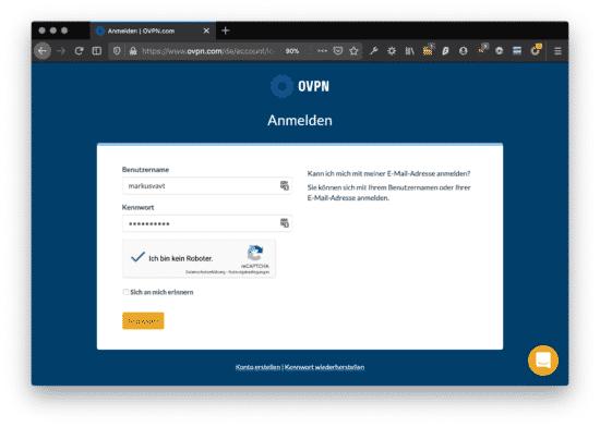 News: OVPN nun auch in Deutsch + Android App im Betastatus 3