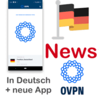News: OVPN komplett in Deutsch