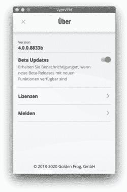 VyrpVPN Version 4.0
