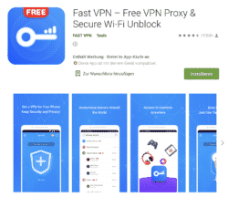 Fast VPN kostenlos