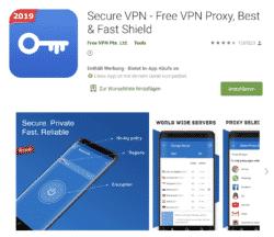 Secure VPN kostenlos