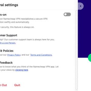 Namecheap VPN Anwendung