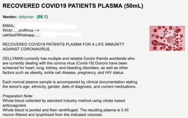 Antiviren Blut