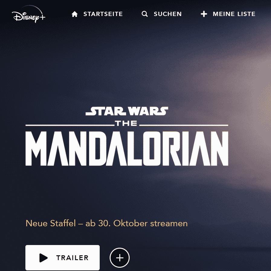 The Mandalorian Staffel 2 Start