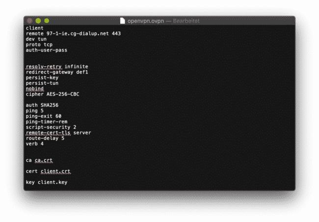 Anleitung: CyberGhost mit OpenVPN am ASUS verwenden 6