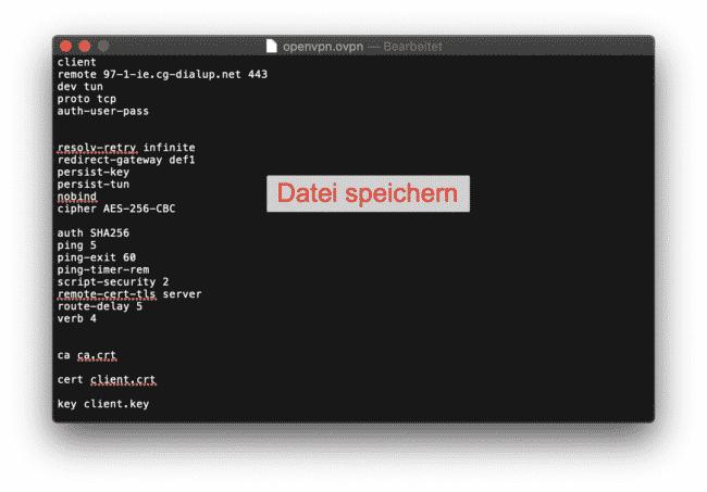 Anleitung: CyberGhost mit OpenVPN am ASUS verwenden 7