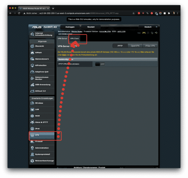 Anleitung: CyberGhost mit OpenVPN am ASUS verwenden 9