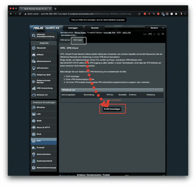 Anleitung: CyberGhost mit OpenVPN am ASUS verwenden 10
