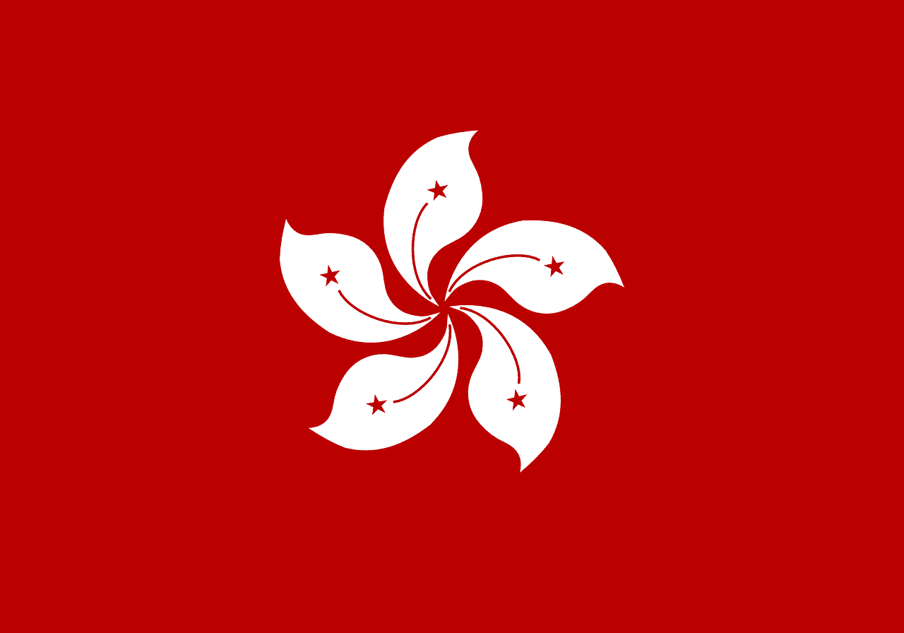 Flagge Hong Kong