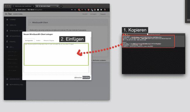 Anleitung: OVPN mit Wireguard auf Gl-iNet Router einrichten 12