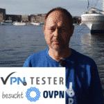 VPNTESTER besucht OVPN in Schweden