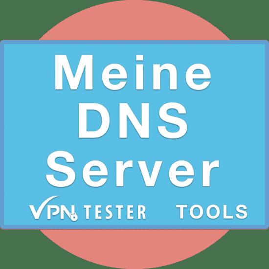 Meine DNS Server - VPNTESTER