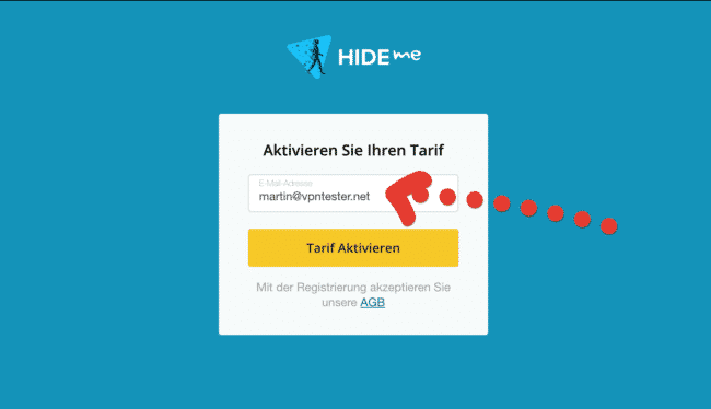 hide.me vpn email angeben