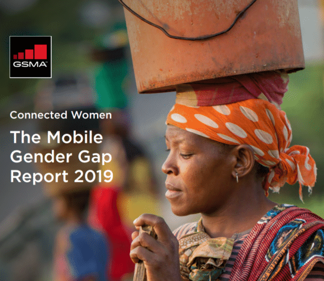 GSMA: The Mobile Gender Gap Report 2019