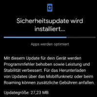 Android Updates Januar 2021