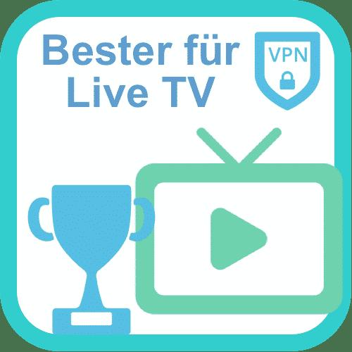 Bester VPN für Live-TV