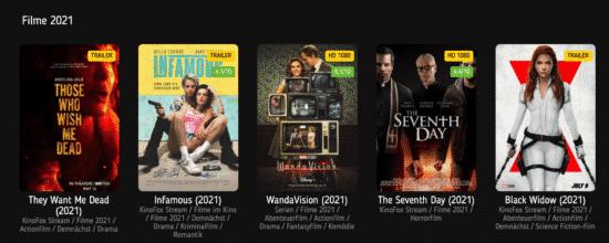 konofox.net Filme aus 2021