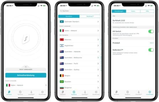 VPN für iPhone