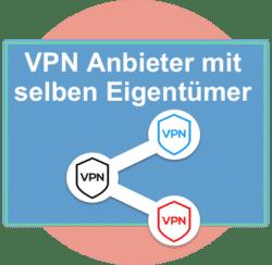VPN Anbieter mit gemeinsamen Eigentümern