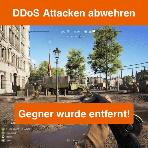DDoS Attacken abwehren