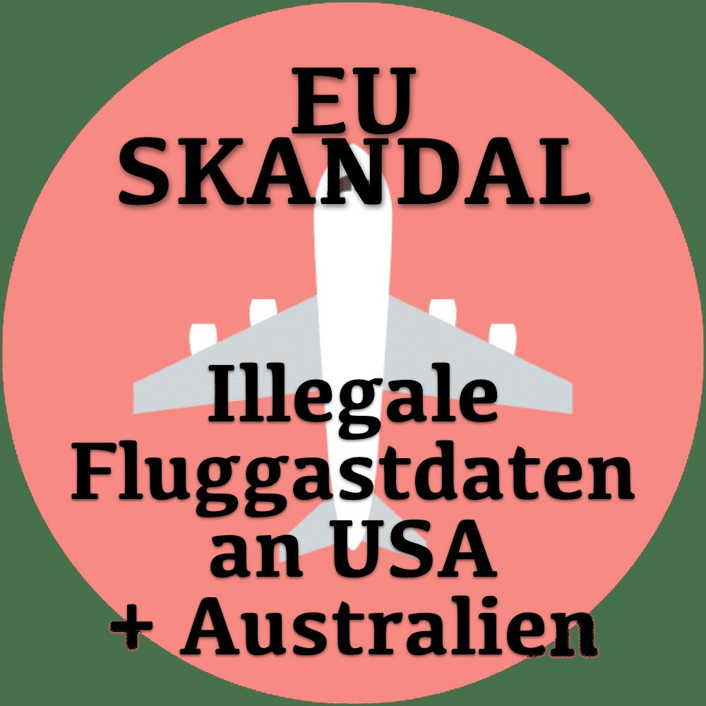 EU Flugastdaten Skandal die nächste Runde