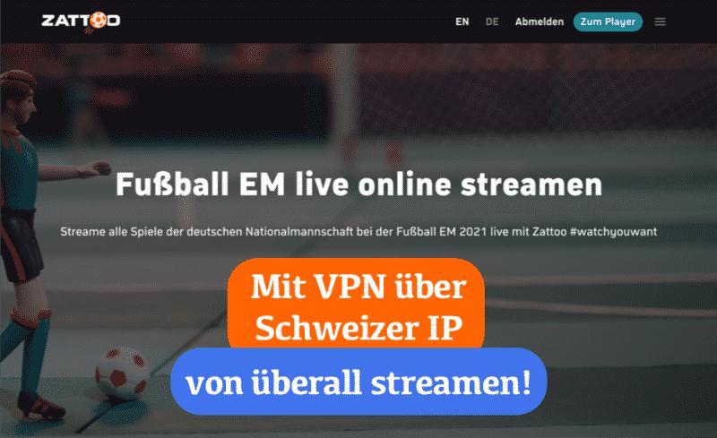 Fußball-Europameisterschaft 2021 live streamen