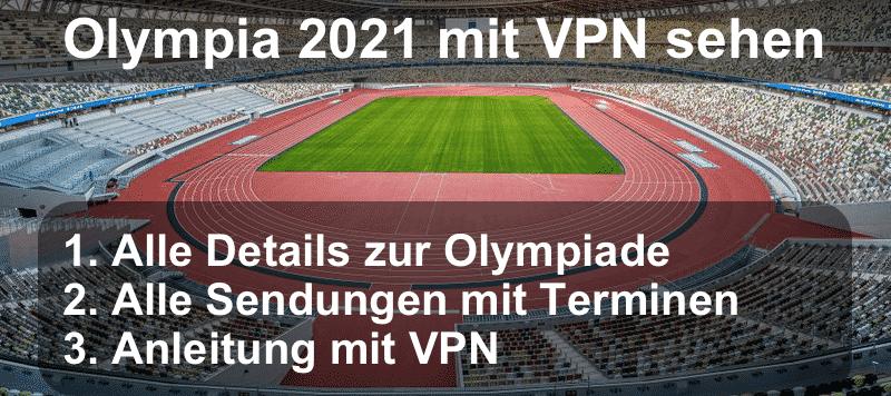 Sonderbeitrag Olympia 2021 - Streaming