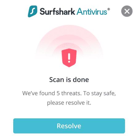Surfshark One mit Surfshark Antivirus