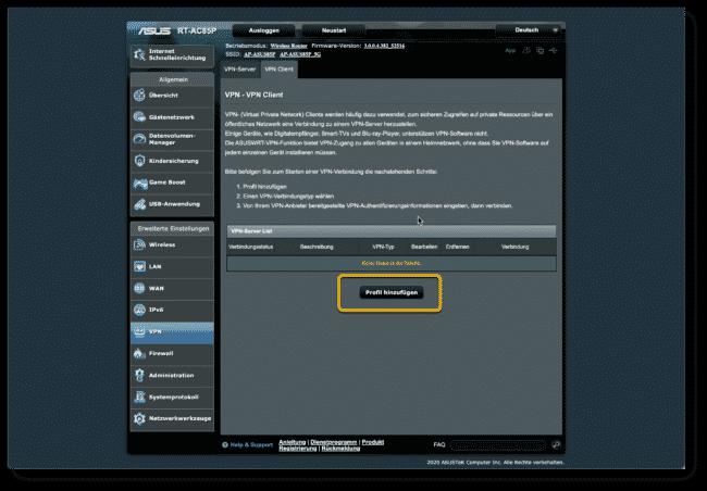 Anleitung: Hola VPN mit ASUS Router verwenden 6