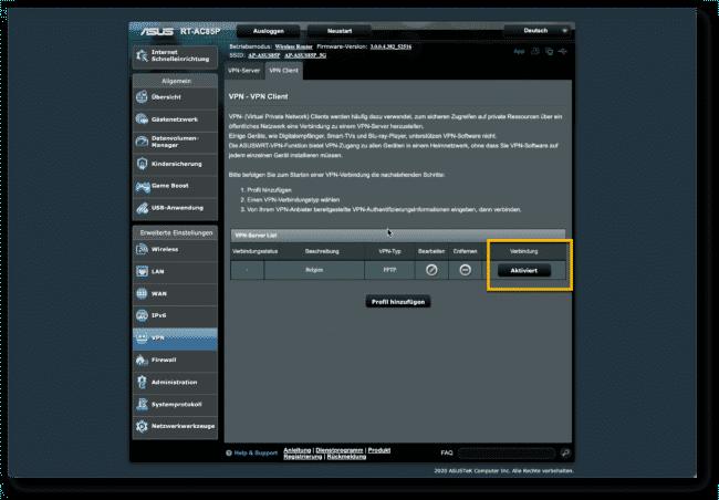 Anleitung: Hola VPN mit ASUS Router verwenden 15
