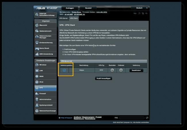Anleitung: Hola VPN mit ASUS Router verwenden 16