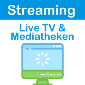 Streaming LiveTV & Mediatheken